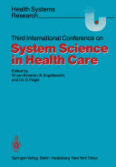 Third International Conference on System Science in Health Care