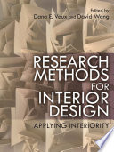 Research Methods for Interior Design