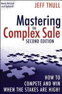 Mastering the Complex Sale Pdf/ePub eBook