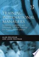 Training International Managers