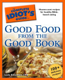 The Complete Idiot's Guide to Good Food from the Good Book Pdf/ePub eBook