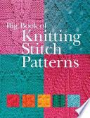 Big Book of Knitting Stitch Patterns