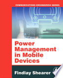 Power Management in Mobile Devices Book