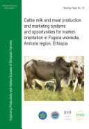 Cattle Milk and Meat Production and Marketing Systems and Opportunities for Market orientation in Fogera Woreda  Amhara Region  Ethiopia