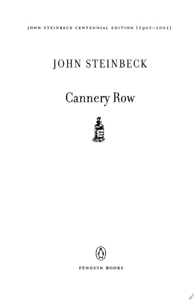 Cannery Row image