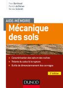Pdf Aide-mémoire - Mécanique des sols - 3e éd. Telecharger