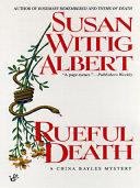 Rueful Death Pdf/ePub eBook