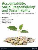 Accountability  Social Responsibility and Sustainability