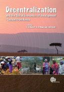 Decentralization and the Social Economics of Development