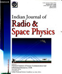 Indian Journal of Radio   Space Physics