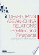 Developing ASEAN-China Relations