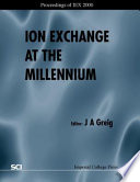 Ion Exchange at the Millennium Book