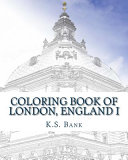 Coloring Book of London  England I
