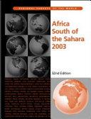 Africa South of the Sahara 2003