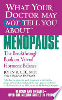 What Your Doctor May Not Tell You About TM   Menopause