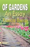 Of Gardens An Essay Pdf