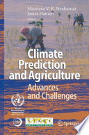 Climate Prediction and Agriculture Book