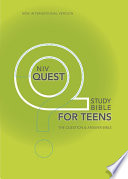 NIV, Quest Bible for Teens, eBook