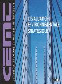 Pdf L'évaluation environnementale stratégique dans le secteur des transports Telecharger
