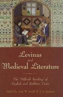 Levinas and Medieval Literature