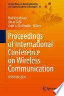 Proceedings of International Conference on Wireless Communication