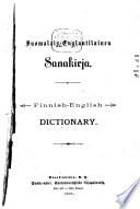 Suomalais-englantilainen sanakirja Finnish-English dictionary