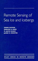 Remote Sensing of Sea Ice and Icebergs