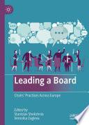 Leading a Board