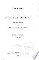 The Works of William Shakespeare: Macbeth. Hamlet. King Lear. Othello. Antony and Cleopatra. Cymbeline