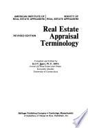 Real estate appraisal terminology