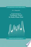 IUTAM Symposium on Nonlinear Waves in Multi Phase Flow