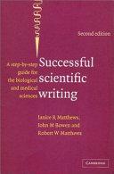 Successful Scientific Writing Full Canadian Binding