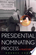 The Presidential Nominating Process