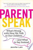 ParentSpeak Book