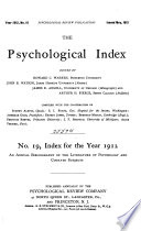 Psychological Index