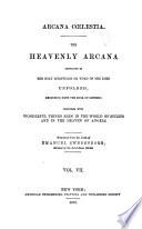 Arcana Coelestia  Exodus