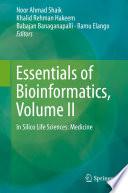 Essentials of Bioinformatics  Volume II Book