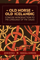 Old Norse   Old Icelandic