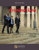 Criminal Law Pdf/ePub eBook