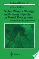 Global Climate Change And Human Impacts On Forest Ecosystems Book PDF