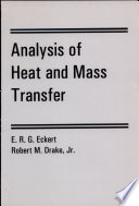 Analysis Of Heat And Mass Transfer