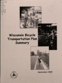 Wisconsin Bicycle Transportation Plan Summary