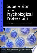 Ebook Supervision In The Psychological Professions Building Your Own Personalised Model