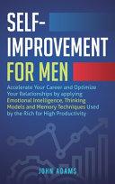 Self Improvement for Men