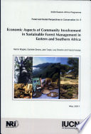 Economic Aspects of Community Involvement in Sustainable Forest Management in Eastern and Southern Africa