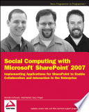 Social Computing with Microsoft SharePoint 2007