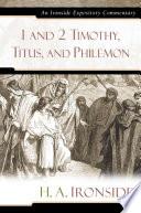1 And 2 Timothy Titus And Philemon