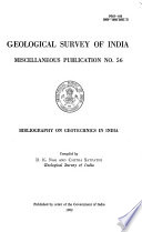 Bibliography on Geotechnics in India