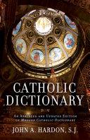 Catholic Dictionary Pdf/ePub eBook