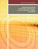 Mathematical Reasoning for Elementary School Teachers Book